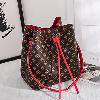 Bucket Håndtasker Fashion Barral Tote Tasker Klassisk Flower Messenger Tasker