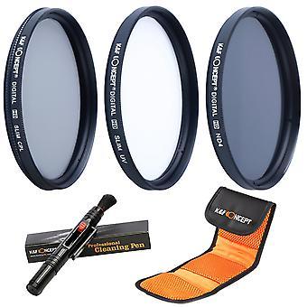 K&f Konzept 72mm uv cpl nd4 Objektiv Zubehör Filter Kit uv Protektor kreisförmigepolarisierenden Filter neutra