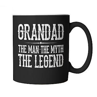 Vovô O Homem O Mito A Lenda Nova Caneca de Cetim - Presente para o Dia dos Pais do Pai