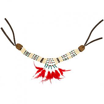 Necklace Indian Women's Wood / Polyester / Feathers One-Size