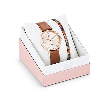 Women's Watch Go Girl Only Watches 698663 - Brown Leather Bracelet