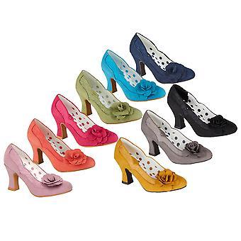 روبي شو المرأة & apos;s كريسي منتصف كعب أحذية المحكمة