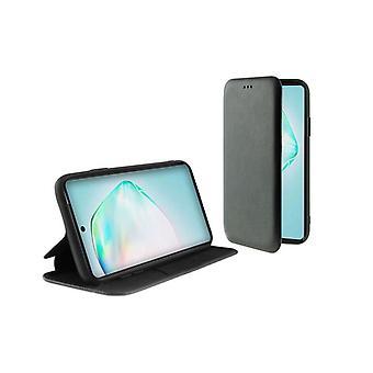 Custodia per cellulare Folio Samsung Galaxy A91/S10 Lite KSIX TPU Black