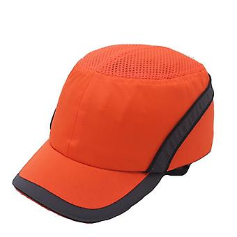 Work Safety Bump Cap Hard Inner Shell Protective Helmet & Baseball Hat Style