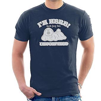 The Magic Roundabout Dougal Let Joy Be Unconfined Men's T-Shirt