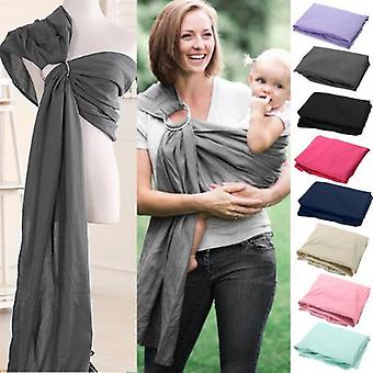 Baby Sling Wrap Soft Mother Baby-carrier 0-2 Yrs Breathable Cotton