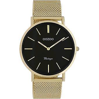 Oozoo - Women's Watch - C9913 - Gold Black