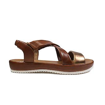 Ara Dubai 15183-11 Tan Patent/Leather Womens Sling Back Sandals