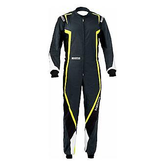 קרטינג חליפת Sparco K44 Kerb צהוב/שחור (גודל XS)