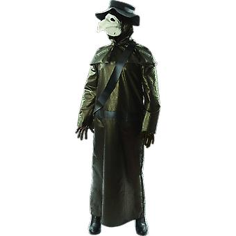Orion kostymer mens medeltida pest Doctor Halloween fancy Dress kostym
