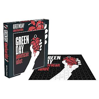 Green Day Jigsaw Puzzle American Idiot Album Cover new Official Black 500 Piece