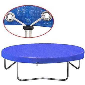 vidaXL trampolindæksel PE 360-367 cm 90 g/m²