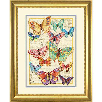 Dimensions Gold: Counted Cross Stitch: Butterfly Beauty