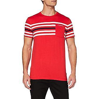 ESPRIT 020EE2K308 T-Shirt, 632/Rood 3, S Heren