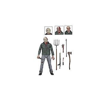 Jason Voorhees Ultimate Edition POSEABLE figur fra fredag den 13. del 3