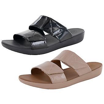 Fitflop Femmes Carin Brevet Slide Sandal Chaussures