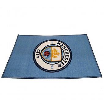 Manchester City FC Scatter Tæppe