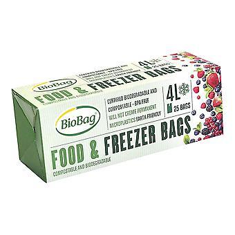 BioBag 4L Food & Freezer Bags