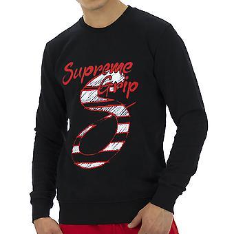 Supreme Grip Men Sweatshirt Viper Black