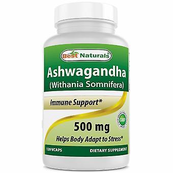 Paras Naturals Ashwagandha, 500 mg, 120 Korkkia