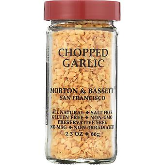 Morton & Bassett Garlic Chopped, Case of 3 X 2.3 Oz