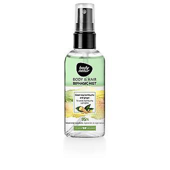 Body Natur Body & Hair Biphasic Mist Té Green, Kombucha Y Jengibre 100 Unisex
