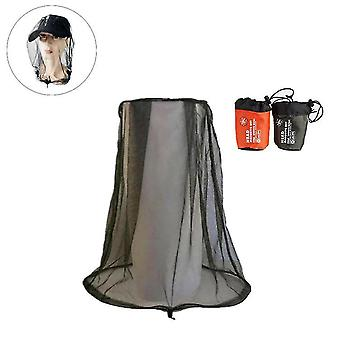 Anti Mosquito Insect Net Hat Mask Protector Outdoor Camping Polowanie Mash Face Guard Cap Cover