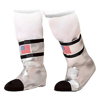 Boot covers Astronaut Silver