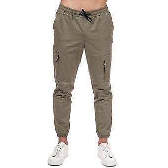 Pantalone da uomo Jack Jones Hill Cargo Cuffed in Verde