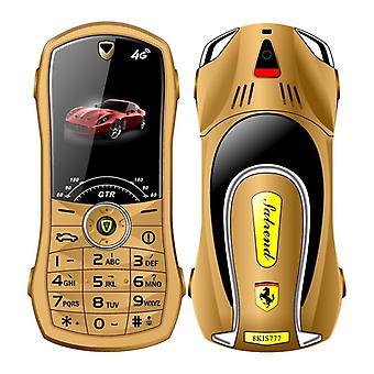 היום טלפון נייד v7 מכונית דגם 1.8 אינץ' לחץ על כפתור מיני מכונית מפתח סטודנט כפול SIM MP3 רטט טלפון
