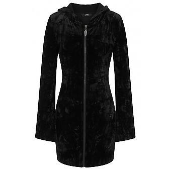 Banned Apparel Hooded Velvet Dress