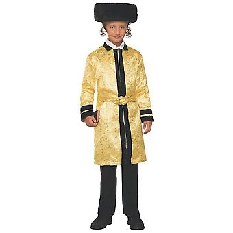 Gold Bekitcha Bekishe Bekeshe Beketche Purim Jewish Rabbi Child Boys Costume