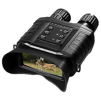 مناظير الرؤية الليلية 4x التكبير الرقمي IR نطاق الرؤية الليلية مع 500m كامل المسافة المظلمة وسائط الفيديو الكاميرا 32gb tf بطاقة المدرجة