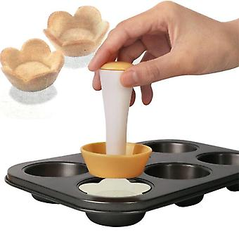 Flower Plastic Cake Cup Mould Set Baking Decorating Cake Cup Molding Machine