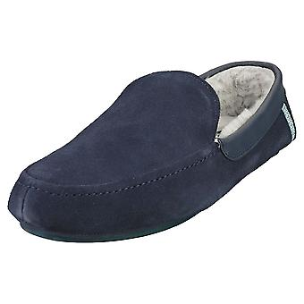 Ted Baker Valant Mens Slippers Shoes in Navy