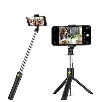 Bluetooth Selfie Stick Kaukosäädin Jalusta Käsipuhelimen pidike Jalusta Kamera