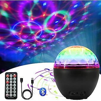 Led Disco Ball 16 Fitness Lighting Disco Lighting Effect With Usb Party Light Cable With Bluetooth Speaker Disco Light Decoration With Disco Dj Party