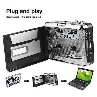 Usb Cassette Player Capture Tape -walkman For Mp3