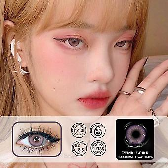 New Arrival 1pair Siam Series Eye Contacts With Color Lenses