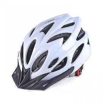 خوذة دراجة الكبار دراجة Mtb الرجال والنساء خوذة السلامة القابلة للتعديل (أبيض)