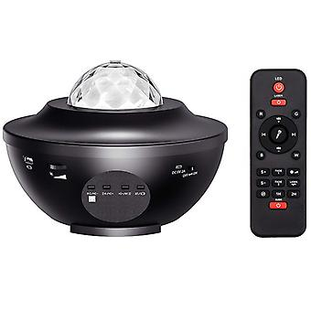 Led Speaker Projector With Water Wave Effect Starlight