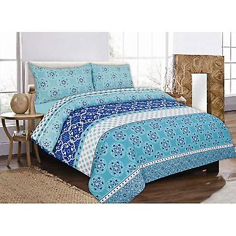 Robyn Printed Duvet Quilt Cover Bedding Set