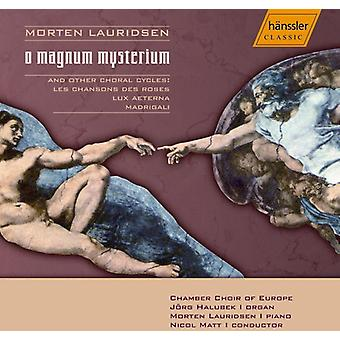 M. Lauridsen - Lauridsen: O Magnum Mysterium [CD] USA import