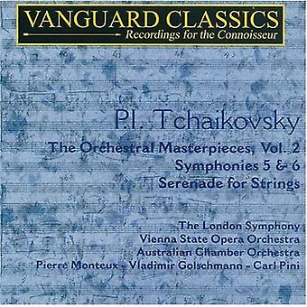 P.I. Tchaikovsky - P.I. Tchaikovsky: The Orchestral Masterpieces, Vol. 2 [CD] USA import