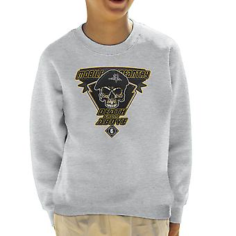 Death From Above Mobile Infantry Starship Troopers Kid's Sweatshirt