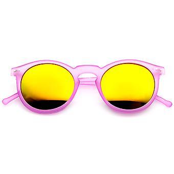 Retro muotia P3 Frame väri linssi kierroksen Horn reunustetut aurinkolasit