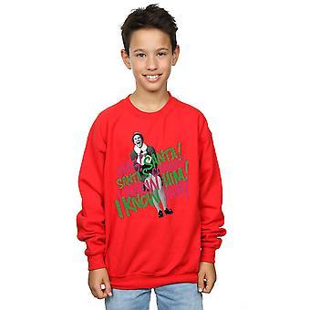 Elf Boys Santa's Coming Sweatshirt