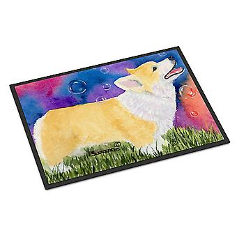 Carolines Treasures  SS8751MAT Corgi Indoor Outdoor Mat 18x27 Doormat