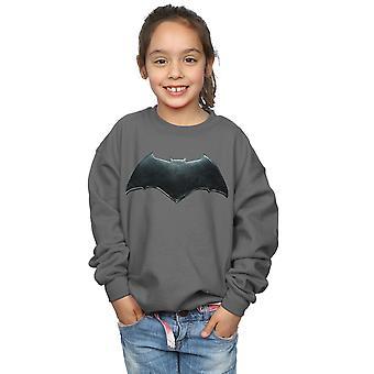 DC Comics Girls Justice League-Film Batman Emblem Sweatshirt