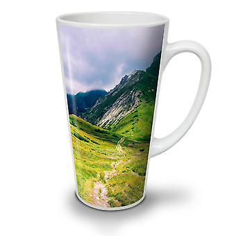 Mountain Top Field NEW White Tea Coffee Ceramic Latte Mug 12 oz | Wellcoda